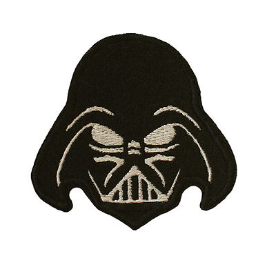 Embroidered DARTH VADER Iron On Sew On Applique Patch Star Wars