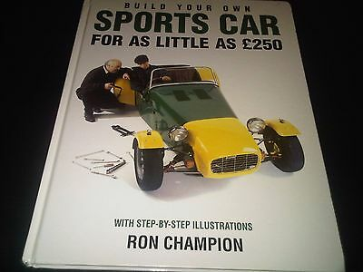 Build Your Own Sports Car Haynes Workshop Manual & Ron Champion