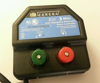 Zareba EA5M-Z 5-Mile AC Low Impedance electric Fence Charger Controller