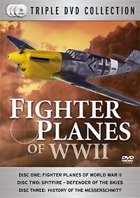 Fighter Planes Of Ww Two -3 Dvd Set Brand New