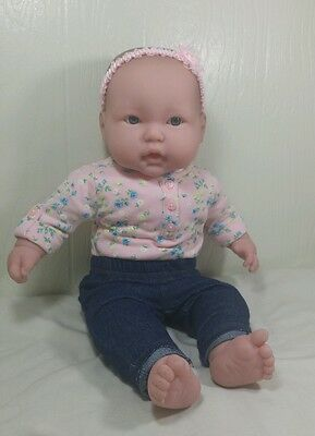 """Berenguer LOTS To CUDDLE  Open Mouth Teeth 20"""" Vinyl Cloth Baby Doll Play Reborn"""