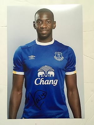 Yannick Bolasie 12x8 Signed Photograph Everton & Congo 2016/2017 Exact Proof New