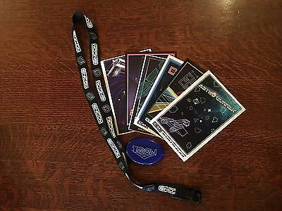 Tron Legacy ENCOM Pack w/ Lanyard, Tron Coin Purse & Collector Arcade PostCards