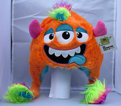 Funky Furry Colourful Monster Hats - Ski/Winter/Gift
