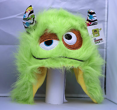 Funky Furry Colourful Monster Hat with LED Flashing Lights Ski/Winter/Gift
