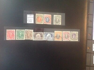 Southern Rhodesia 1931 Marshal Sht Set To 1/- Used X 11 Stamps