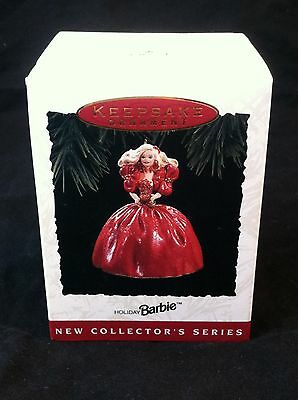Hallmark 1993 HOLIDAY BARBIE 1st In Series Christmas Ornament NEW#C981