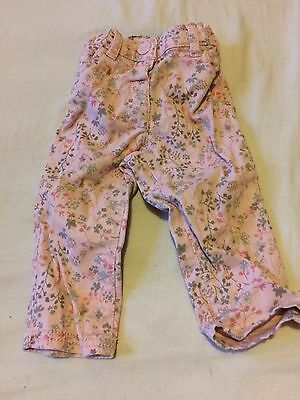 NEXT 6-9 Month Girls Jeans/Trousers Floral