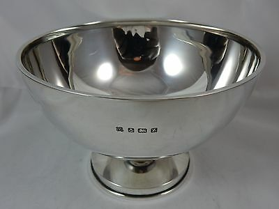 SMART solid  silver ROSE BOWL, 1924, 300gm