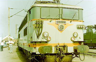TWENTY RAILWAY FRANCE EUROPE SNCF 20  35mm COLOR NEG OF LOCO'S  (D)