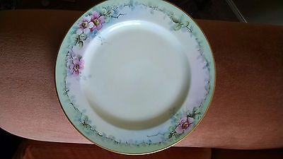 D&C French antique 10 inch plate. Hand painted and signed.