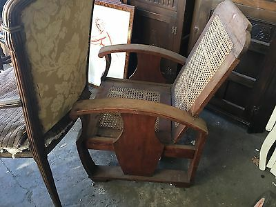 Antique Chair Edwardian Solid Wood