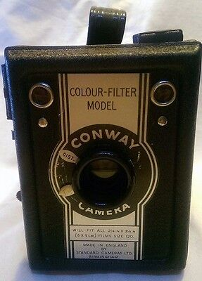 Conway Camera Colour filter model box Vintage Old Retro Display Photography