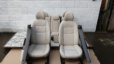 Volvo V50 '04-07 Full Cream Leather Interior Seats And Door Cards