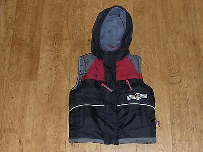 Boys Mothercare Action Man Body Warmer Age 4 - 5 years