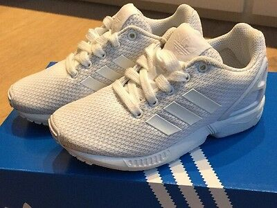 Nearly New Adidas Torsion Toddler Infant Girls Boys Trainers XZ Flux Size UK 11k