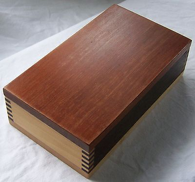 Attractive Alerce - American Oak & Lime Wood Timber Box