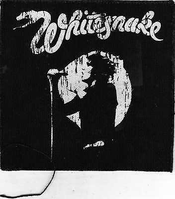 WHITESNAKE OFFICIAL SEW PATCH size 4.75/4.75""
