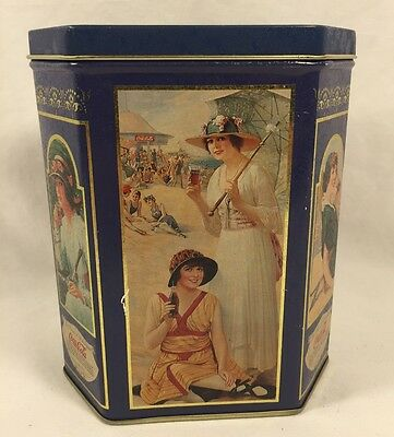 Coca-Cola Advertising Tin Box with Bathing Beauty's,  1994