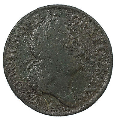Ireland, George I Halfpenny, Woods, Hibernia, Usa Colonial, 1723