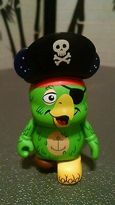 """DISNEY Vinylmation Park - 3"""" inch Series 2 Pirates of Caribbean Parrot Chaser"""