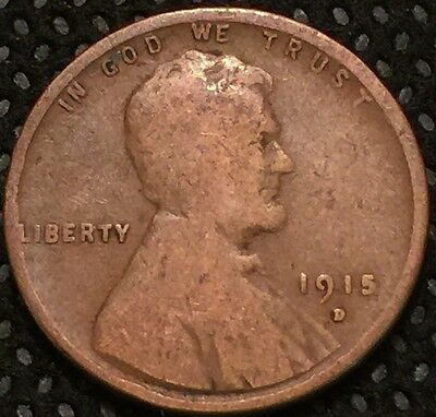 1915 D LINCOLN WHEAT CENT combined shipping