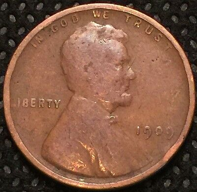 1909 Philadelphia Mint Copper Lincoln Cent combined shipping