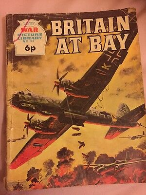 BATTLE  PICTURE LIBRARY.  NO. 741 Britain At Bay