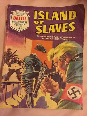 BATTLE  PICTURE LIBRARY.  NO. 322  Island Of Slaves