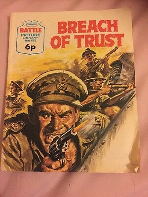 BATTLE  PICTURE LIBRARY.  NO. 685 Breach Of Trust