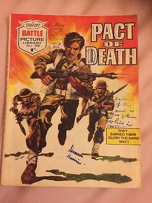BATTLE  PICTURE LIBRARY.  NO. 366 Pact Of Death