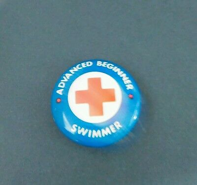 American Red Cross Advanced Swimming Button