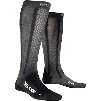 -- X-Bionic X-Socks Calze Trekking Expedition Long, Anthracite (A07)
