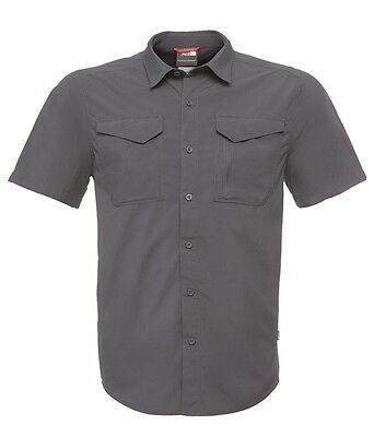 -- The North Face Camicia Uomo SS New Sequoia Shirt, Asphalt Grey (A07)