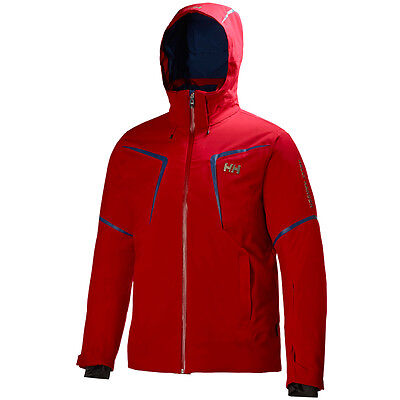 -- Helly Hansen Stoneham Giacca Sci, Red (A07)