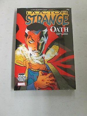 LCSD 2016 DOCTOR STRANGE OATH EXCLUSIVE HC Local Comic Shop Day Vaughan Martin