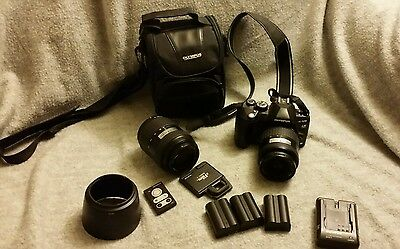 Olympus e-520 with extras