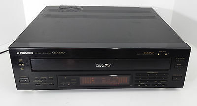 Pioneer Laser Disk CLD2080 with Cables & 2 Movies