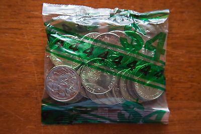 2016 Sealed Mint RAM Bag - UNC - 1 x Australia 20c Coin Bag (20 coins)