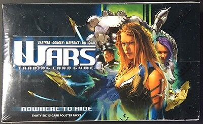 2005 Decipher WARS Trading Card Game Nowhere To Hide Booster Box SEALED