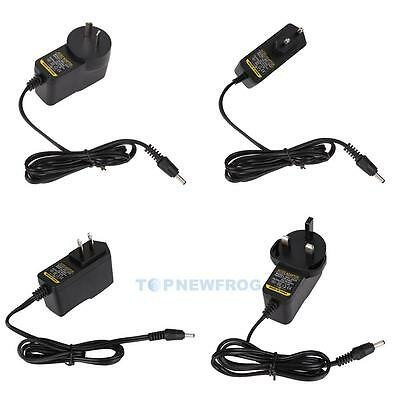 AC/DC 5V 2A 12V 1A 3.5mm Switching Power Supply Adapter Charger Connector Plug