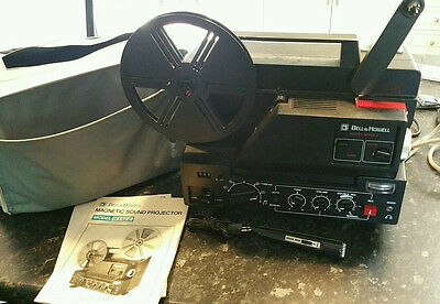 Vintage Bell & Howell MX42Z Magnetic Sound Movie Projector w/ recording Mt Eliza