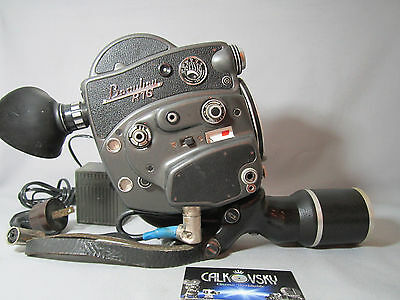BEAULIEU R16 REFLEX 16MM MOVIE CAMERA C-MOUNT with CHARGER
