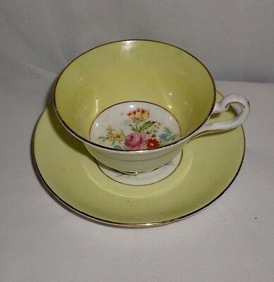 Vintage Rosina Bone China Cup and Saucer Set   England