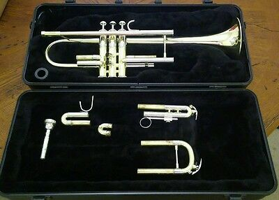 Bach TR 500 Trumpet Just Serviced New Bach Valve Buttons