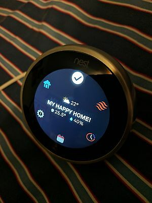 Nest Learning Thermostat Demo Display Model