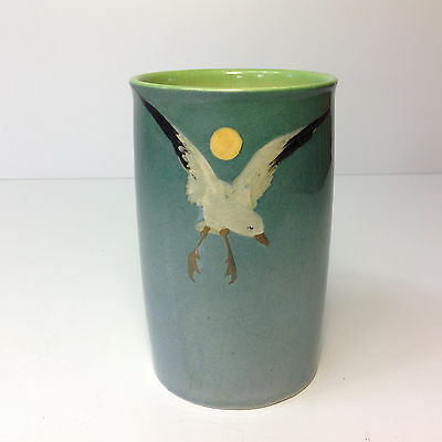 Royal Doulton Titanian Vase Hand Painted Bird