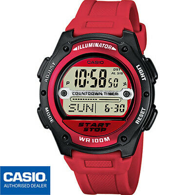CASIO COLLECTION RELOJ de Hombre Multialarm Reloj Digital
