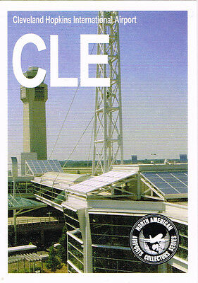 CLE Collectible Airport Trading Card Cleveland Hopkins International Ohio