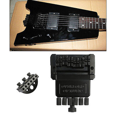 Headless 6 String Electric Guitar Bass Tremolo Bridge System for Headless Guitar